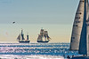 Watch for the tall ships sailing from Oceanside to San Diego on Wednesday, January 21.  This battle was staged last Saturday and did not go unnoticed.