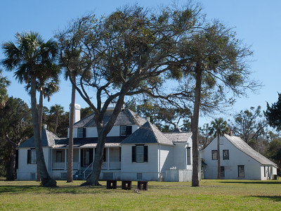 Kingsley Plantation house.
