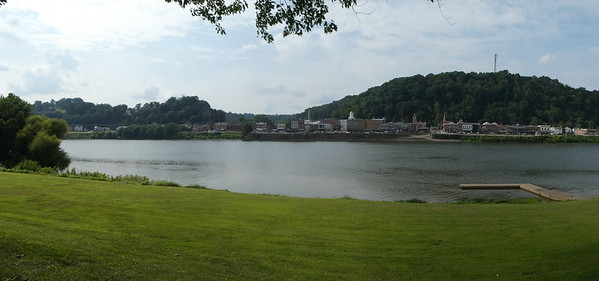 Pomeroy, OH, on Ohio River