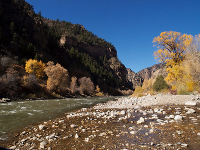 Colorado River, Glenwood Canyon, Colorado