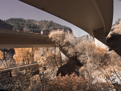 I-70 through Glenwood Canyon, Colorado