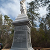 Memorial to women of the lower Cape Fear during the American Revolution. Moore's Creek National Battlefield, NC.