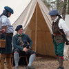 Reenactors, Moore's Creek National Battlefield, NC.