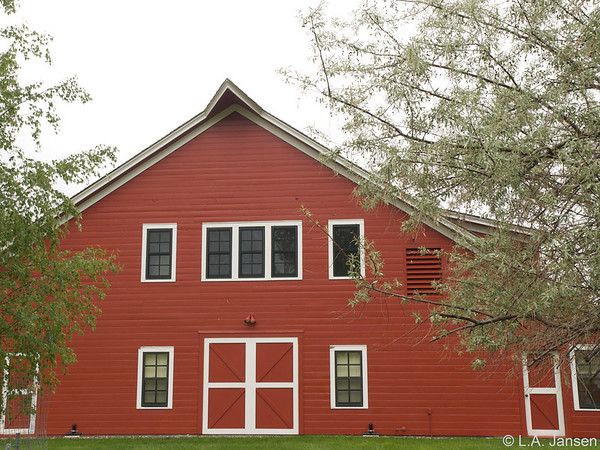 Big Red Barn, Ucross Foundation
