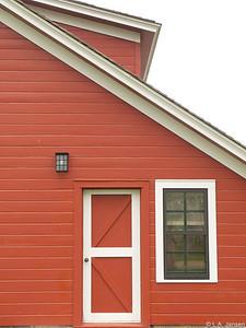 Big Red Barn, Ucross Foundation