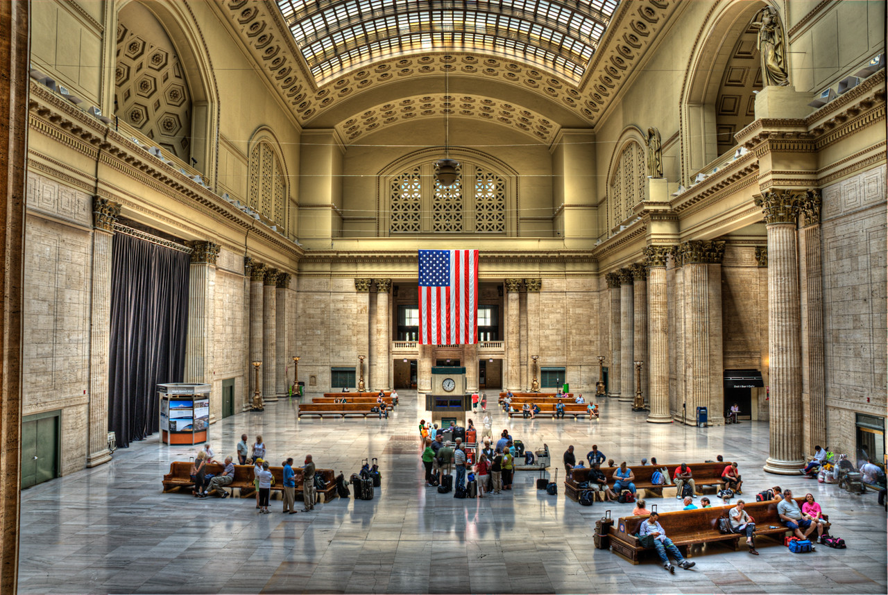 Union Station Chicago Il HDR