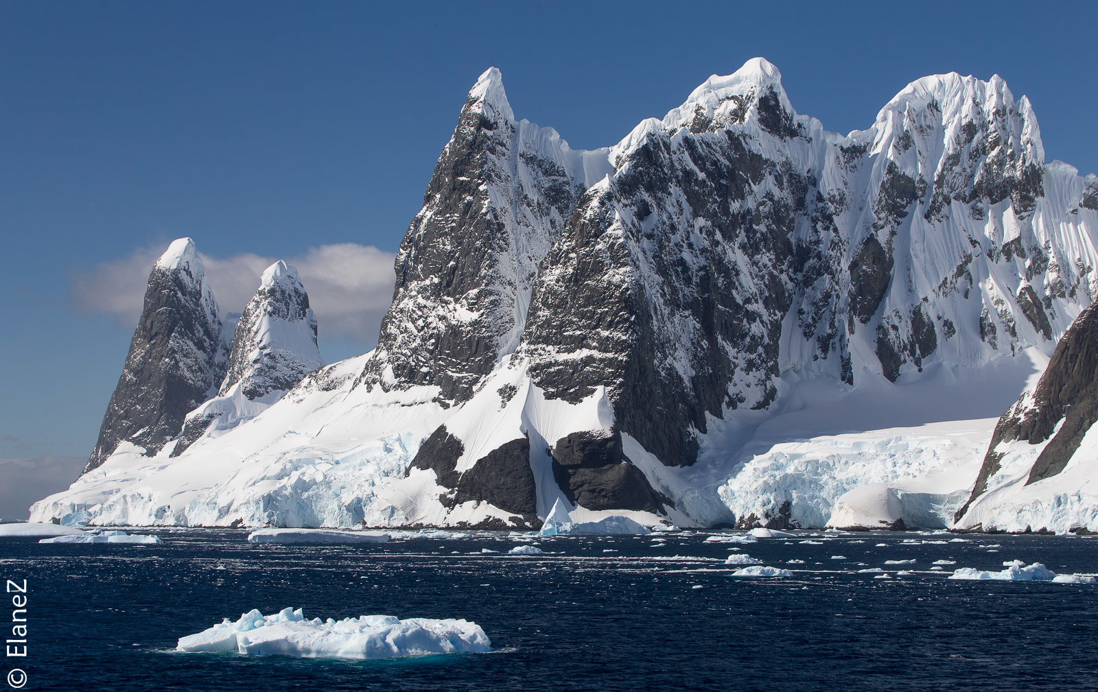Mountains & Glaciers - this is Antarctica!