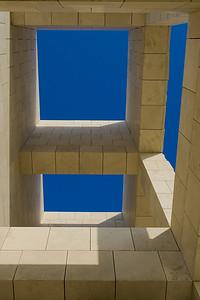 Framing the sky with more Richard Meier windows.