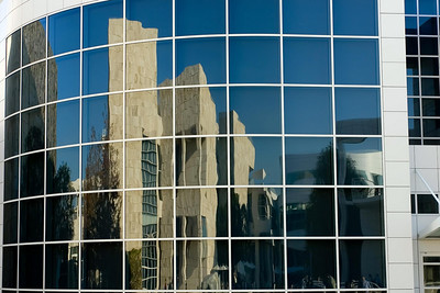 Reflections of The Getty