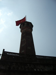 Flag Tower in Ha Noi.