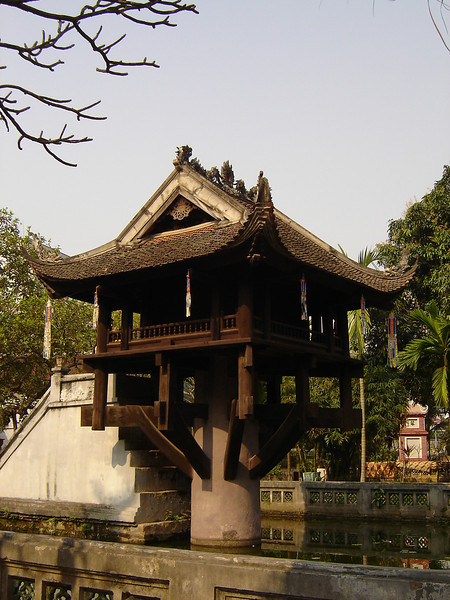 One Pillar Pagoda in Ha Noi.