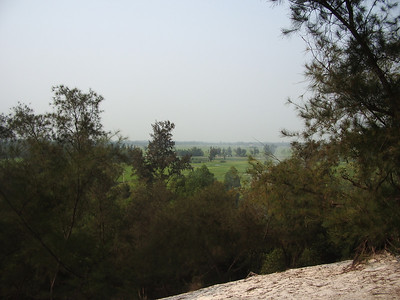 Looking south towards the Song Cua Viet (River) from Hill 31.
