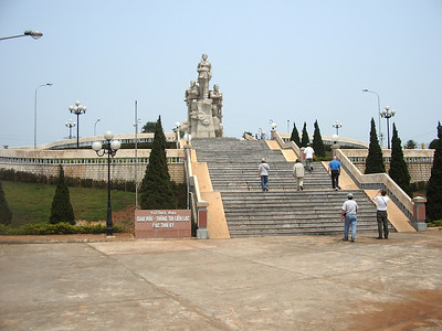 Vietnamese War Memorial located north of Gio Linh overlooking the former DMZ. -  Tour #VN05031