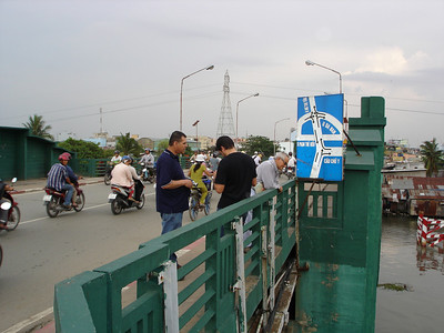 "Visiting the ""Y"" Bridge on the south side of Saigon. - Tour #VN08051"