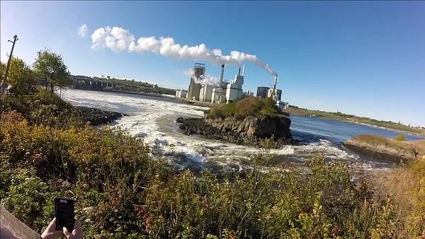 Reversing Falls St John New Brunswick Canada