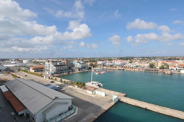 Port of Aruba looking in Oranjestad