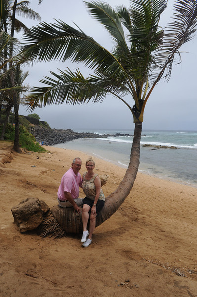 The Beach at Mama's Fish House, Paia, Maui, Hawaii