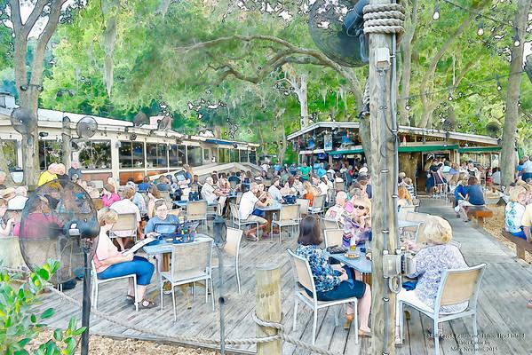 Skull Creek Restaurant Hilton Head Island 2015 by Mike Newman