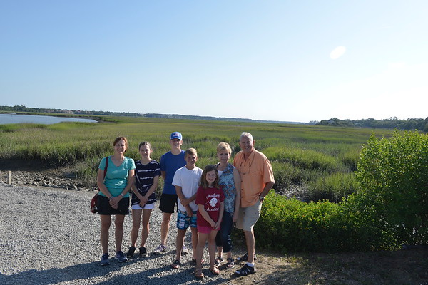 The Marsh outside of The Old Oyster Factory