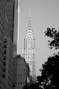 Chrysler Building b&w