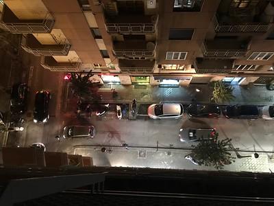 Shot from Balcony on 7th Floor, B & B Salerno Way II