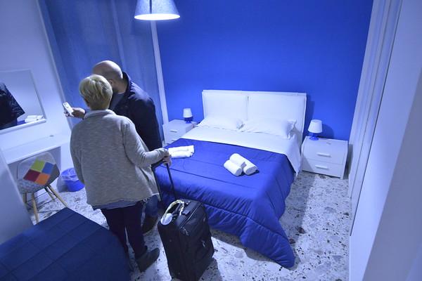 Bedroom of B & B Salerno Way II, Salerno, Italy
