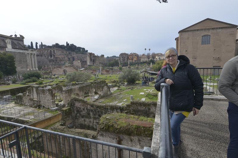Carol at the Forum