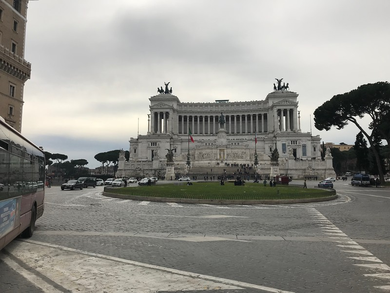 Piazza de Venezia, Rome, Italy