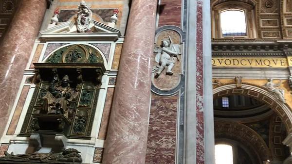 Descriiption of St Peter's Basillica