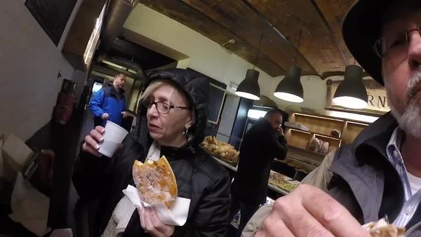 Cannoli at Forno Bakery Rome