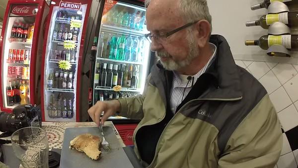 Eating the Tiramisu