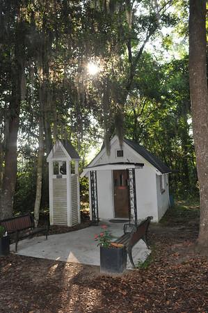 The Smallest Church in America at exit 67 Darien, GA