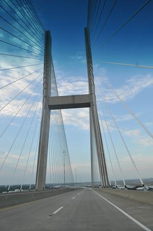 Bridge from Brunswick towards Jekyl Island, GA