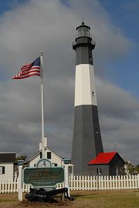 Tybee Island, GA lighthouse just outside Savannah.