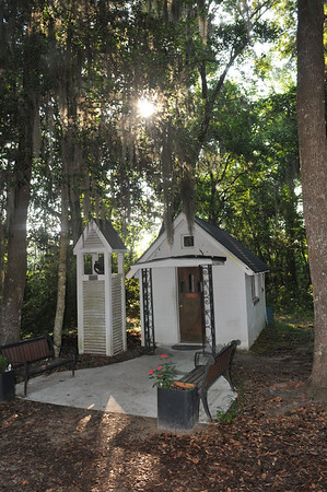 The Smallest Church in America at exit 67 Darien, GA