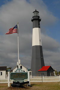 Tybee Island, GA lighthouse just outside Savannah.