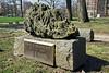 FHAA Bruegel 01 Inscription plaque<br /> <br /> Forest Hill Cemetery, Ann Arbor, Michigan<br /> March 21, 2012