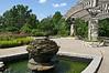 Fountains and the Pavilion, in the Gateway Garden.<br /> <br /> Matthaei Botanical Gardens, Ann Arbor, Michigan<br /> July 18, 2012<br /> (nex5n)