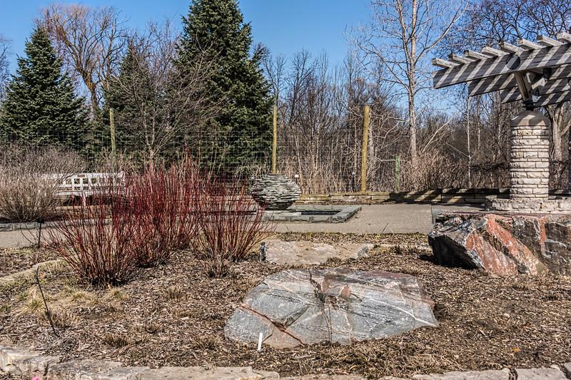Gateway Garden in early spring