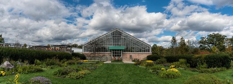 Panorama of the Perennial Garden