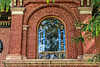Window above the entrance, Ladies Library Building, ca. 1853.<br /> <br /> 130 North Huron Street, Ypsilanti, Michigan<br /> September 11, 2013