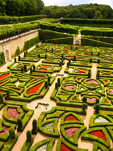 Gardens at Chateau Villandry