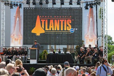 Opening of the Atlantis Exhibit