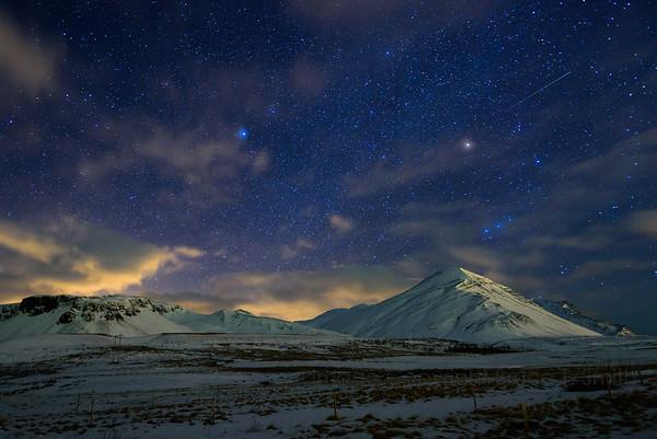 67 Iceland Night Sky
