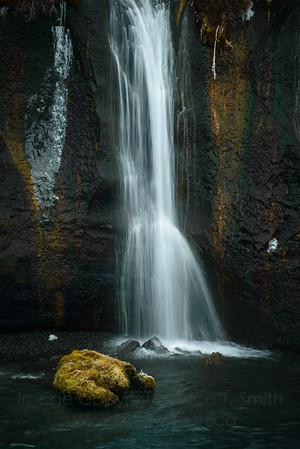 55 Iceland Waterfall Closeup