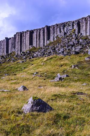 4 Iceland Basalt Cliffs
