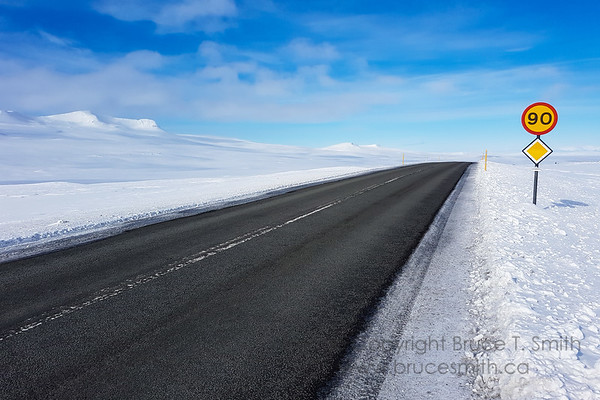 57 Lonely Iceland Highway
