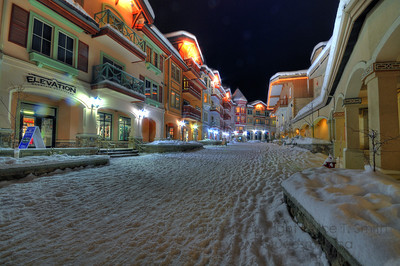 The village at night
