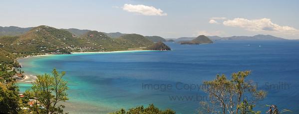 British Virgin Islands Panorama