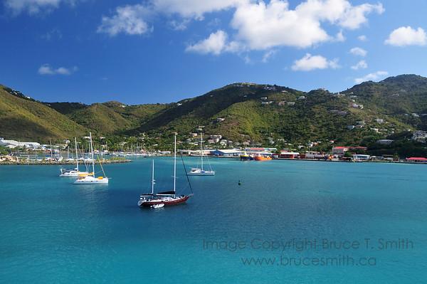 Tortola Harbor, British Virgin Islands